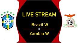 Link xem trực tiếp bóng đá Nữ: Brazil vs Zambia Olympic Tokyo hôm nay