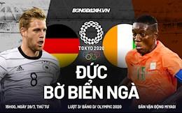 Không thể đánh bại Bờ Biển Ngà, Đức tức tưởi dừng bước ngay vòng bảng Olympic 2020