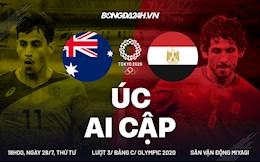 Link xem trực tiếp bóng đá Australia vs Ai Cập 18h00 ngày 28/7 (Olympic 2020)