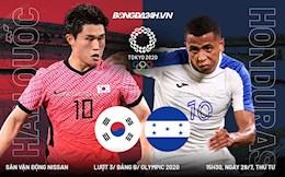 Link xem trực tiếp Hàn Quốc vs Honduras hôm nay 28/7 (Olympic 2020)