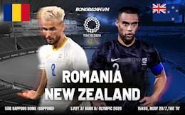 Trực tiếp bóng đá Romania vs New Zealand - Link xem Olympic 2020