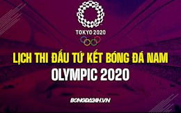 Lịch thi đấu tứ kết bóng đá nam Olympic 2020: Nhà ĐKVĐ góp mặt