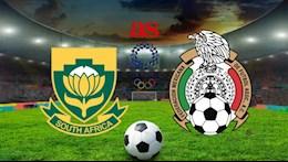 Nhận định bóng đá, soi kèo Nam Phi vs Mexico 18h30 ngày 28/7 (Olympic 2020)