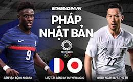 """Trực tiếp bóng đá Pháp 0-3 Nhật Bản (H2): Chủ nhà nhấn chìm """"Gà trống"""""""