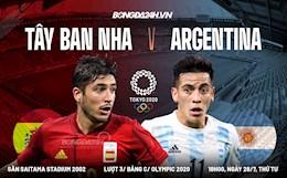 Tây Ban Nha tiễn Argentina rời Olympic 2020 sau trận cầu có quá nhiều cơ hội