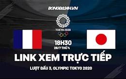 Link xem trực tiếp Pháp vs Nhật Bản bóng đá Nam Olympic Tokyo 2020