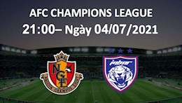 Nhận định, soi kèo Nagoya vs Johor Darul 21h00 ngày 4/7 (AFC Champions League 2021)