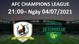 Nhận định bóng đá Tampines vs Jeonbuk 21h00 ngày 4/7 (AFC Champions League 2021)
