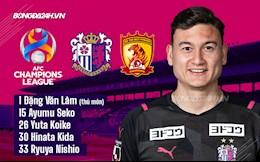 Nóng: Đặng Văn Lâm lần đầu bắt chính cho Cerezo Osaka tại AFC Champions League