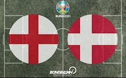 ĐỘI HÌNH CHÍNH THỨC Anh vs Đan Mạch rạng sáng 8/7/2021 (Bán kết Euro 2020)