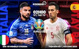 """Italia 1-1 (pen 4-2) Tây Ban Nha: """"Đấu súng"""" thành công, Azzurri vào chung kết Euro 2020"""