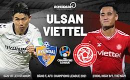 Nhận định Ulsan Hyundai vs Viettel (21h00 ngày 8/7): Liệu có bất ngờ?