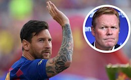Coach Koeman mentioned Messi's name after the win against Real Sociedad