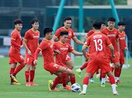 Vietnam's rookie team scored in a practice match against Vietnam U23