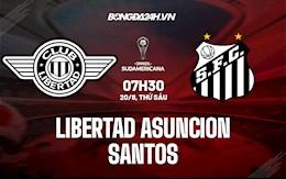 Nhận định Libertad vs Santos 7h30 ngày 20/8 (Copa Sudamericana 2021)