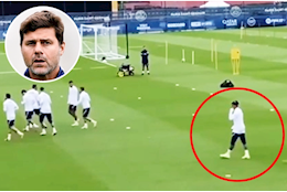 This!  Proof that Kylian Mbappe is isolated at PSG