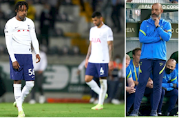 Shocked defeat, Tottenham is in danger of not entering the Europa Conference League group stage