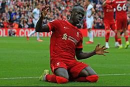 Sadio Mane goes down in Liverpool history
