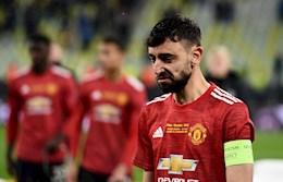 Bruno mất giải cầu thủ xuất sắc nhất Europa League 2020/21