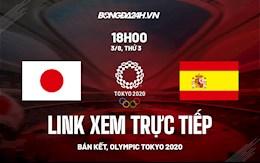 Trực tiếp VTV6 Nhật Bản vs Tây Ban Nha link xem bán kết Olympic 2020