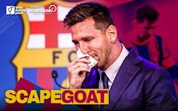 Messi: Barca's scapegoat