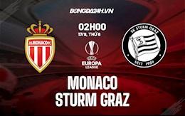 Nhận định, dự đoán Monaco vs Sturm Graz 2h00 ngày 17/9 (Cúp C2 châu Âu 2021/22)