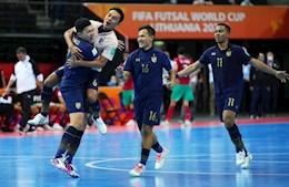 Ghi bàn phút cuối, ĐT futsal Thái Lan sáng cửa vượt qua vòng bảng