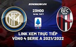 Link xem trực tiếp Inter Milan vs Bologna vòng 4 Serie A 2021/22 ở đâu ?