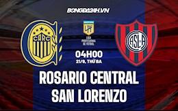Nhận định bóng đá Rosario Central vs San Lorenzo 4h ngày 21/9 (VĐQG Argentina 2021/22)