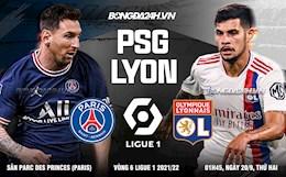 Nhận định PSG vs Lyon (1h45 ngày 20/9): Bữa tiệc của Messi