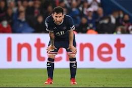 Messi bị bầm dập xương đầu gối