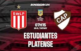 Nhận định bóng đá Estudiantes vs Platense 7h15 ngày 25/9 (VĐQG Argentina 2021/22)