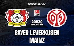 Nhận định, dự đoán Leverkusen vs Mainz 20h30 ngày 25/9 (Bundesliga 2021/22)