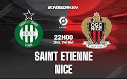 Nhận định bóng đá St.Etienne vs Nice 22h00 ngày 25/9 (Ligue 1 2021/22)