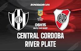 Nhận định bóng đá Central Cordoba vs River Plate 6h15 ngày 26/9 (VĐQG Argentina 2021/22)