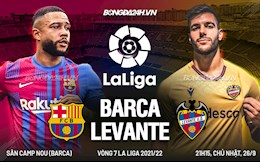 Nhận định Barca vs Levante (21h15 ngày 26/9): Lấy lại chút thể diện