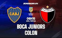Nhận định Boca Juniors vs Colon 6h15 ngày 27/9 (VĐQG Argentina 2021)