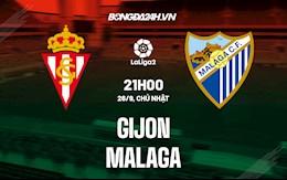 Nhận định bóng đá Gijon vs Malaga 21h00 ngày 26/9 (Hạng 2 TBN 2021/22)