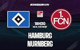 Nhận định Hamburg vs Nurnberg 18h30 ngày 26/9 (Hạng 2 Đức 2021/22)