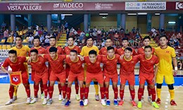 ĐT futsal Việt Nam chốt màu áo cho trận ra quân tại FIFA futsal World Cup