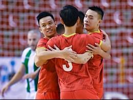 ĐT futsal Việt Nam nhận kết quả tích cực trước ngày sang Lithuania