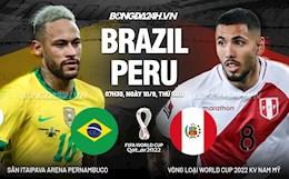 Nhận định Brazil vs Peru (07h30 ngày 10/09): Đập tan nghi ngờ